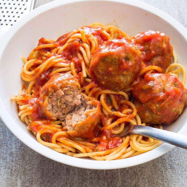 Sausage Meatballs And Spaghetti America S Test Kitchen