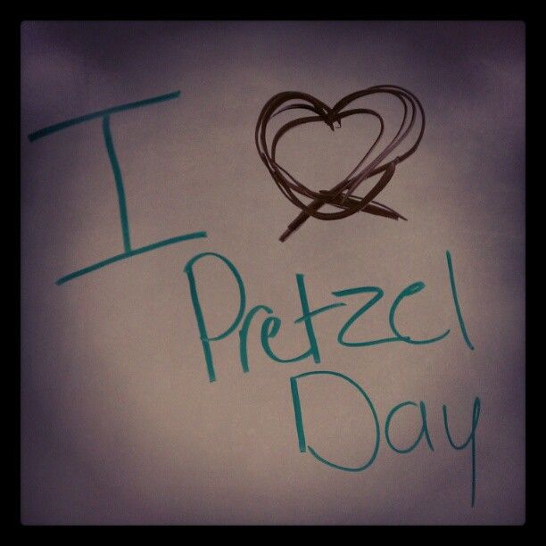 "Our ""Employee Fun Day"" committee is at it again! They are gearing up for the big #PretzelDay distribution"