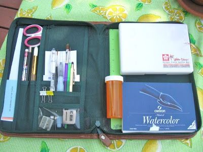 55 best traveling art kits art supplies to go images on pinterest travel kits travel journals and art journaling