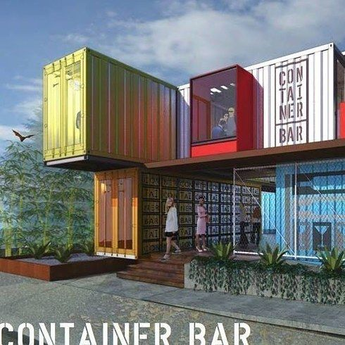 Container Bar — Austin | 21 Insanely Unique Bars Around The World You Need To Drink At ASAP