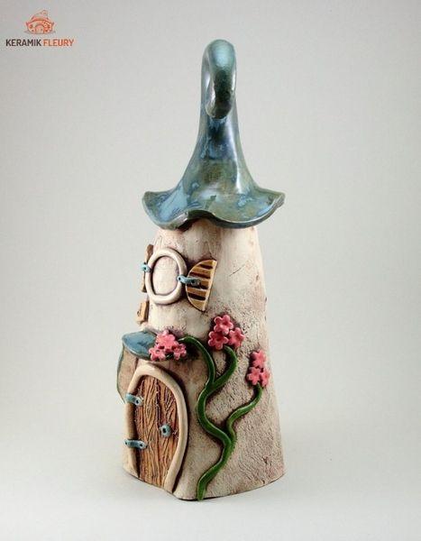 Keramik Insektenhotel Käferhotel Gartenkeramik von Keramik-Fleury auf DaWanda.com