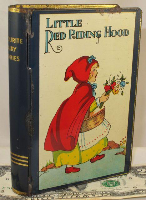 Little Red Riding Hood Book Tin