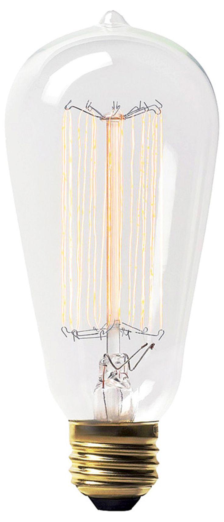 Teardrop st64 william and watson vintage edison bulb industrial light - Ren Wil Lb001 3 Lb001 Retro Light Bulb