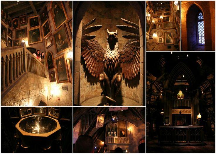 Inside Hogwart's
