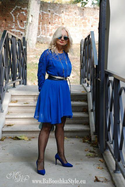 Babooshka Style - Blog modowy: Blue boho chic