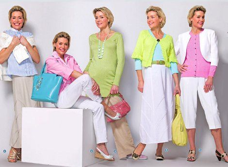 Appropriate clothing for mature women(us old gals), that is!!! Lol