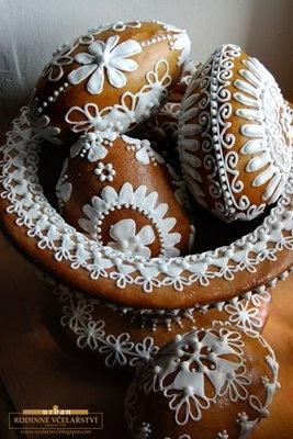 Honey Gingerbread eggs, Rodinné Včelařství Urban