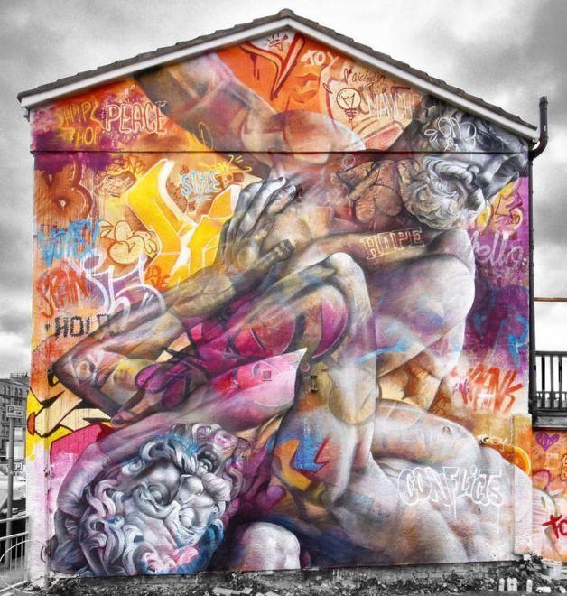 Best In Gods We Trust By Pichiavo Images On Pinterest - Beautiful giant murals greek gods pichi avo