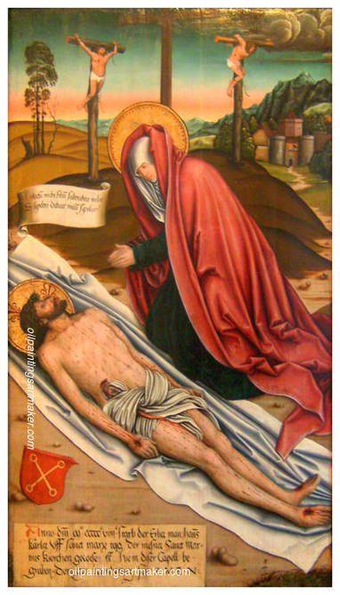 Bernhard Strigel Lamentation of Christ - Bernhard Strigel painting outlet, painting Authorized official website