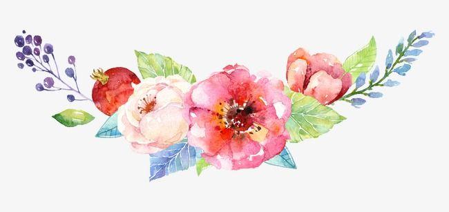 Flores Bocetos De Flores Flores Flores Acuarela