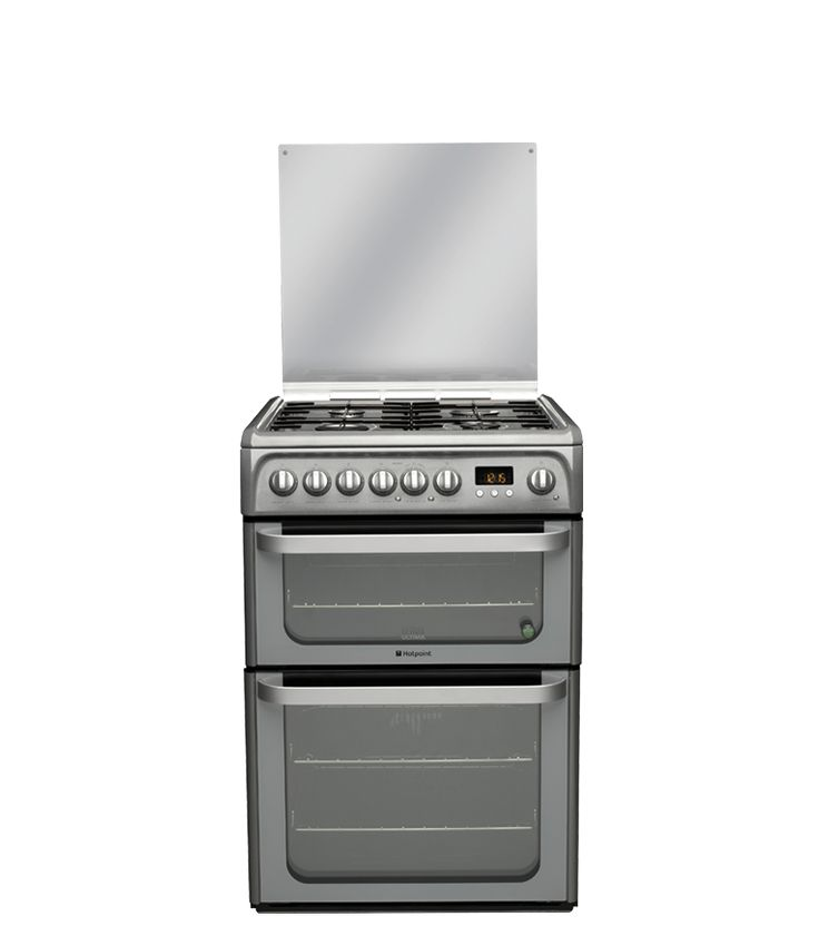 Hotpoint Experience HUD61GS Dual Fuel Cooker - Graphite