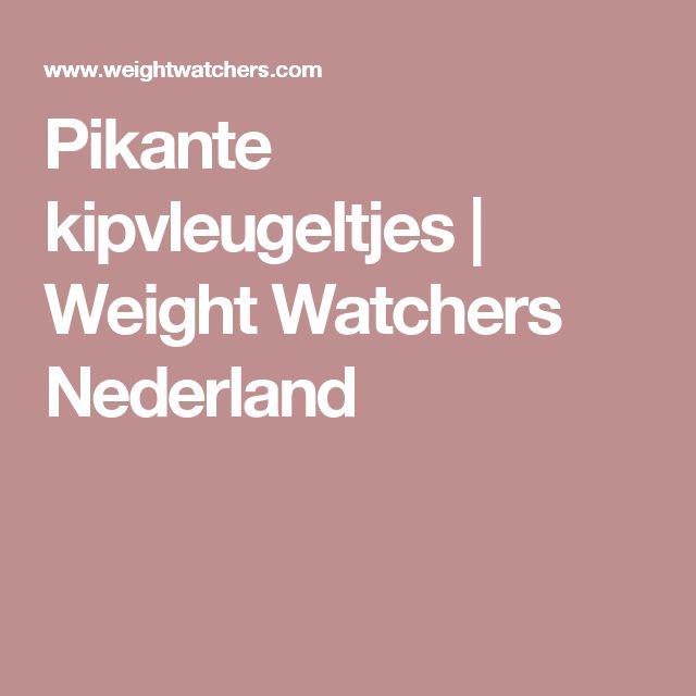 Pikante kipvleugeltjes | Weight Watchers Nederland
