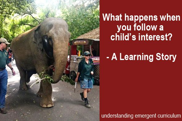 Short Blog about one child's love of Dumbo led the group to an investigation of the circus. Understanding the Emergent Curriculum