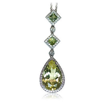 I'm pinning one more stunning colored gemstone necklace - Parris Jewelers, Hattiesburg, MS #finejewelry