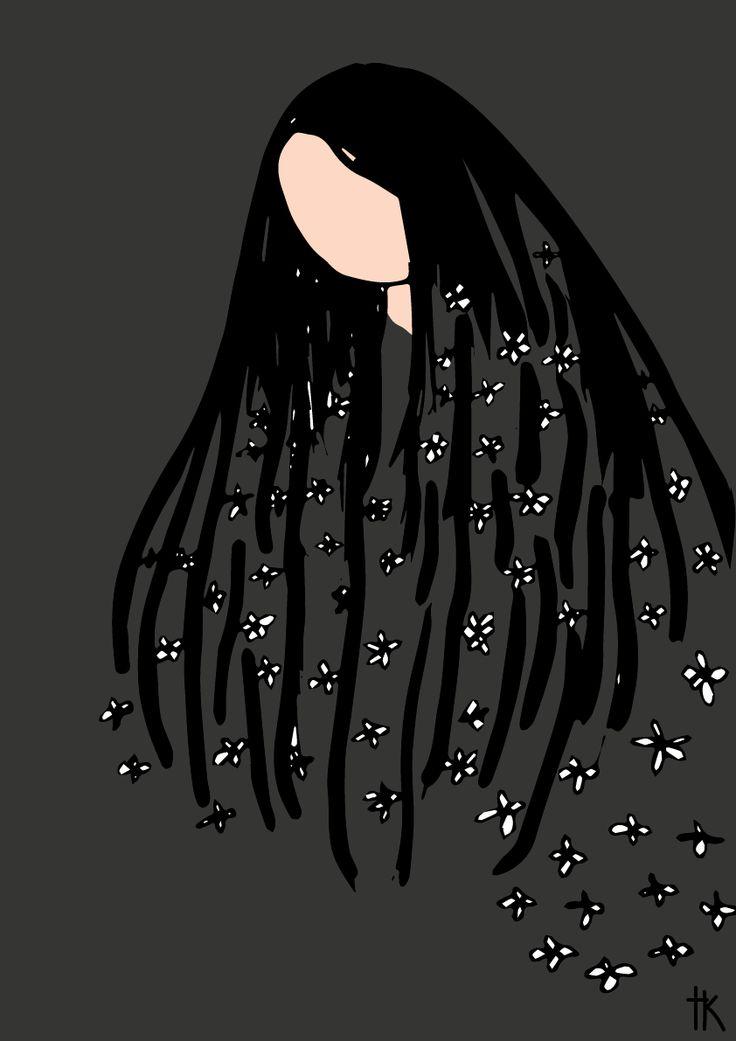 Mother. Illustration: © Trine Kvalnes