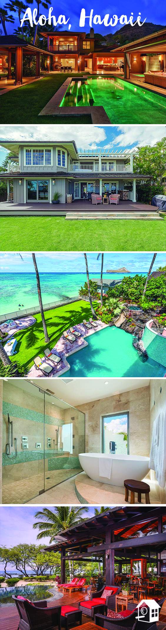 Breathtaking views in #Hawaii! Find the perfect home for your next beachy vacation!