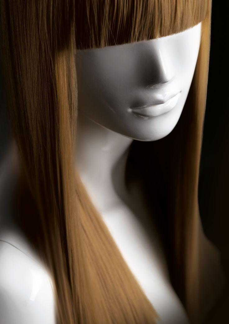 FEMALE WIGS #MoreMannequins #FemaleMannequin #hairstyle #brownhair #bangs