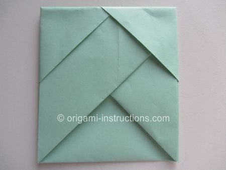 envelope napkin fold instructions