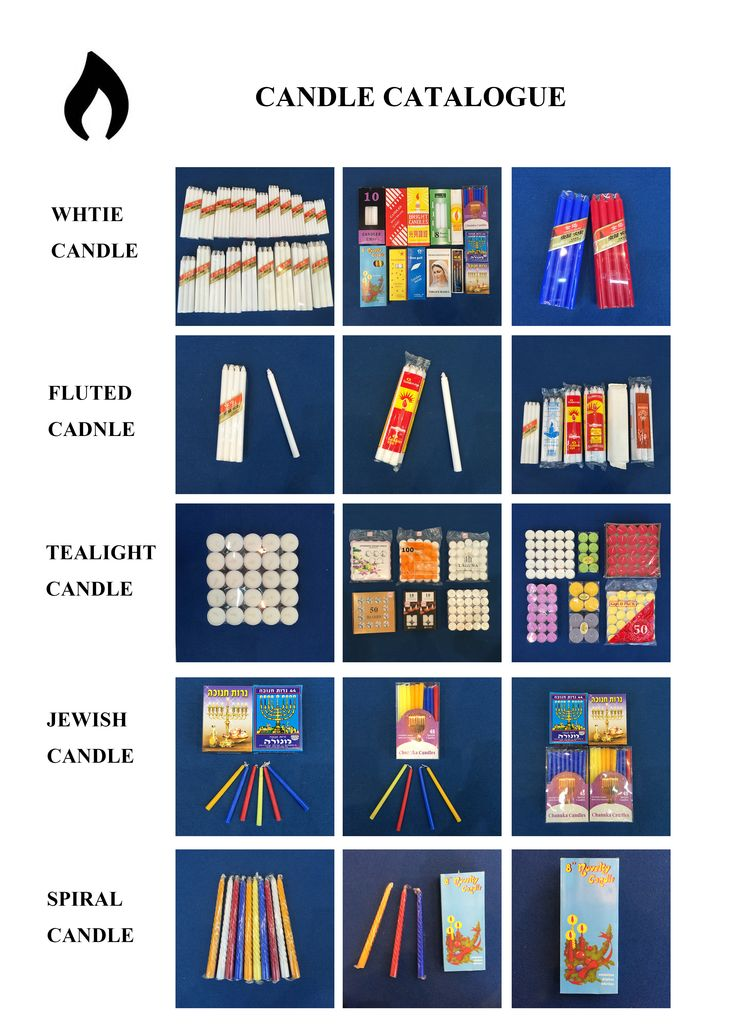 ALL KINDS of CANDLES, directly from our China factory...
