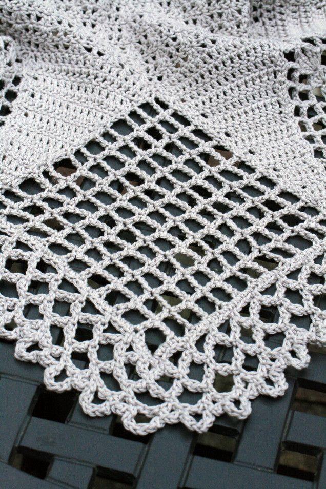 Crochet Skirt Hemline Square 1