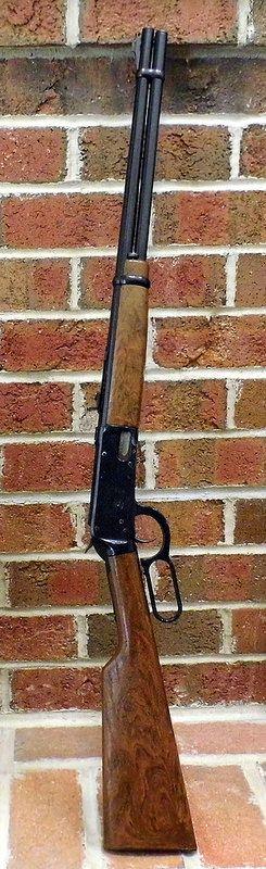Vintage Daisy Lever-Matic BB Gun, Spittin Image Of The Great Model 94 Winchester Rifle, Original Price = $12.95, Circa 1966.
