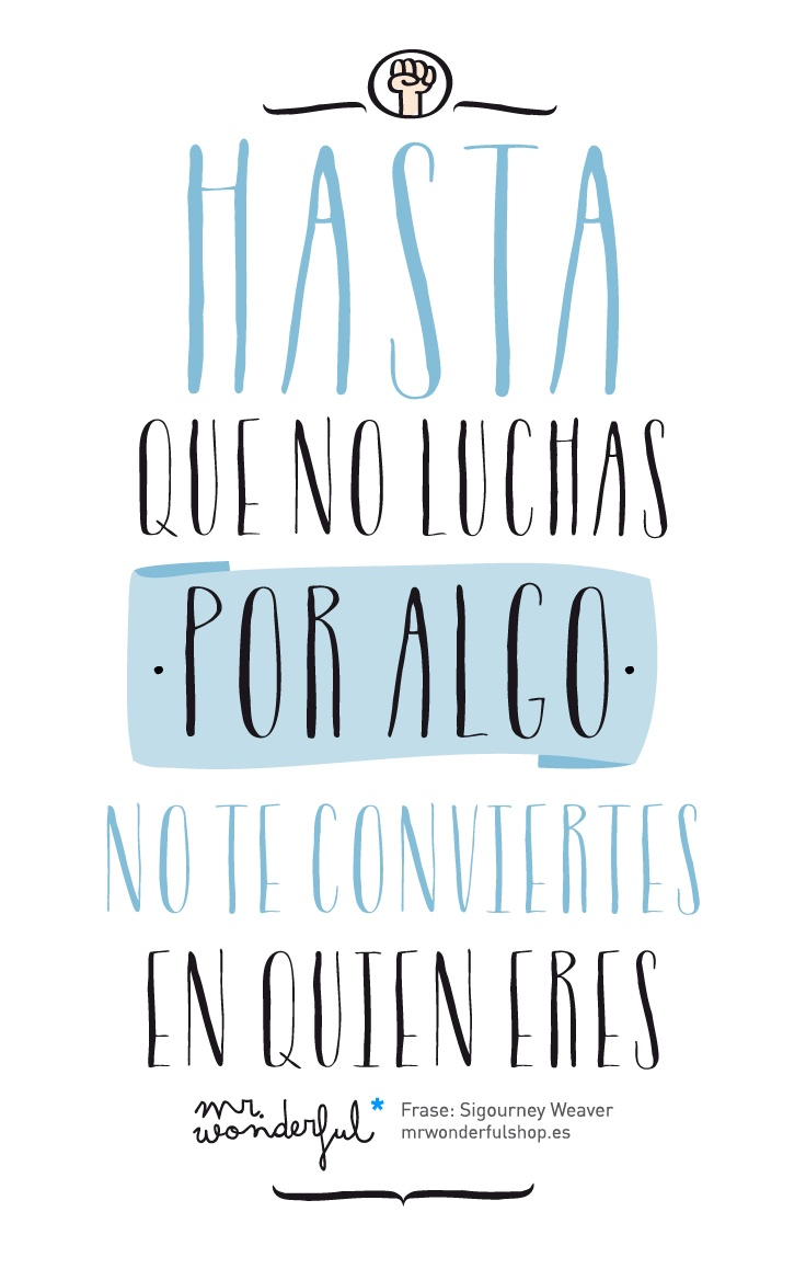 mr wonderful #positivismo #entusiasmo