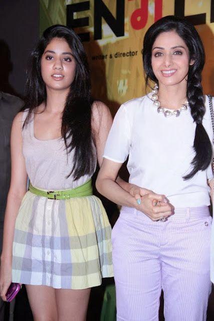 Sridevi's Hot Daughter Jhanvi Snapped Stunning at Event