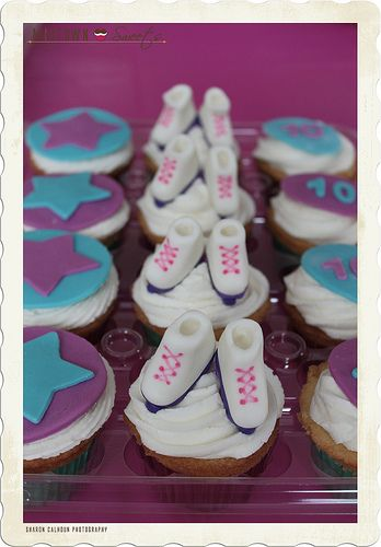 Roller Skate Cupcakes | Flickr - Photo Sharing!