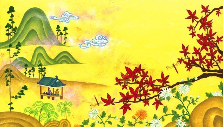 illust for Children's picture book : #Korean #Traditional Things  #illust #picture book