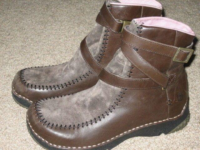 Teva Leather Boots S/N 6312 USA size 5 #Teva #FashionAnkle