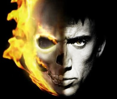 Nicholas Cage is Johnny Blaze / Ghost Rider!  See GHOST RIDER: SPIRIT OF VENGEANCE in theatres February 17.