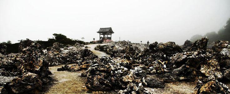Mount Osore, Japan, Asia