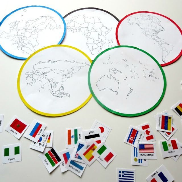 The Story of the Olympic Rings with Free Printable - Planet Smarty Pants