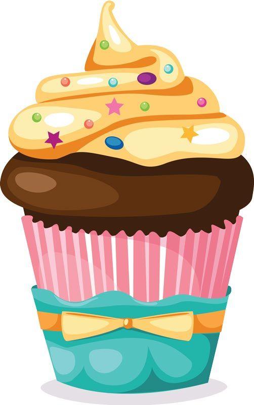 Clipart De Cupcake : 25+ best ideas about Cupcake Vector on Pinterest Vector ...