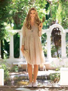 Выкройка легкого платья