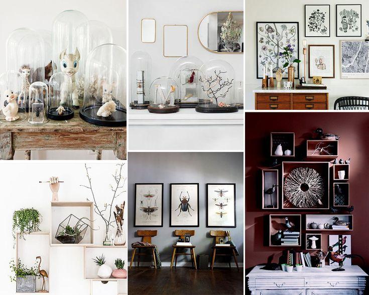 Les 23 meilleures images du tableau deco interior sur pinterest d cors int rieurs cabinet - Cabinet de curiosite contemporain ...