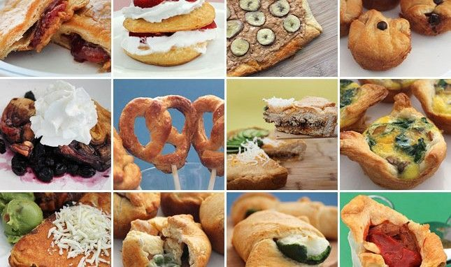 We're on a Roll: 20 Creative Ways to Cook with Crescent Rolls.