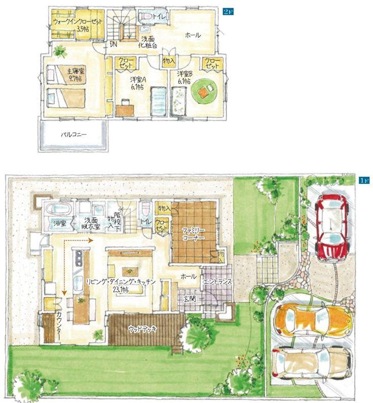 モデル邸の間取り公開!!|【遠鉄ホーム】女性目線で作るモデルハウス建築日記