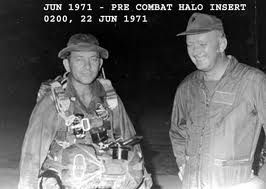 """celtic-tactical: """"magout-adventure: """" laughingasidie: """" descentoficarus: """" Sergeant Major Billy Waugh (Ret.) -Served in 187th Airborne Regimental Combat Unit in Korea -Green Beret from 1954 to 1972 -1965-Battle of Bong Son. Ambushed by an estimated..."""