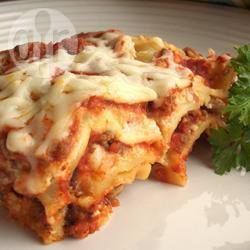 Beef and Cottage Cheese Lasagne