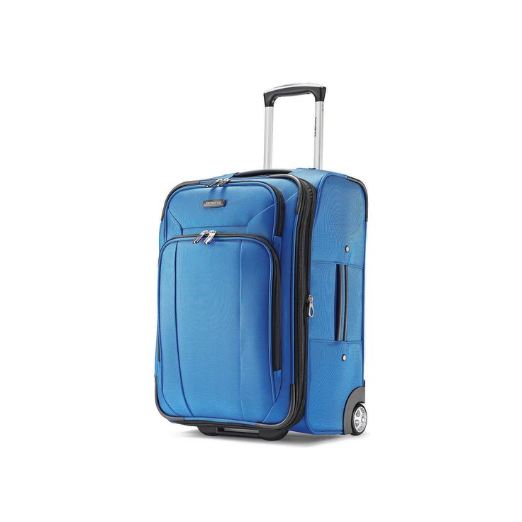 Samsonite Hyperspin 2 21-Inch Wheeled Carry-On Luggage, Blue