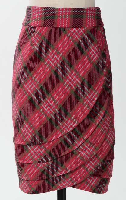 New Bedford Skirt!  Perfect for upcoming Christmas season and super slimming with high waste fit!
