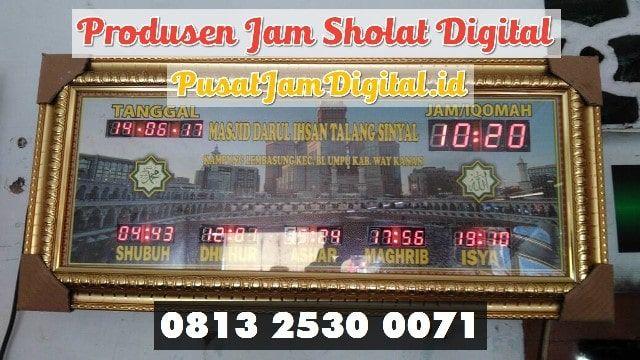 Jadwal Sholat Running Text Di Ogan Komering Ulu Selatan Wa 0813