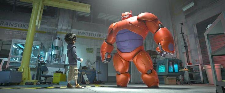 Big Hero 6 form Disney Arte y Animación