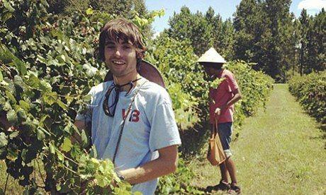 WWOOF volunteers on a farm in Florida Photograph: WWOOF USA