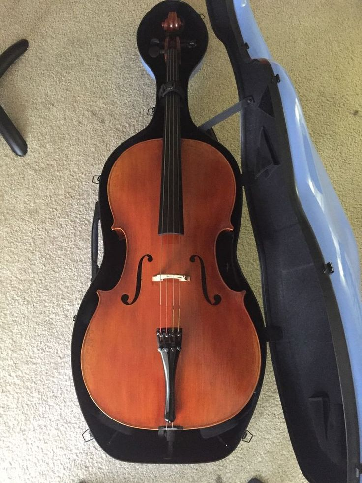 Beautiful Cello for sale with Musilia case and JonPaul Bow (Varnish retouched!)