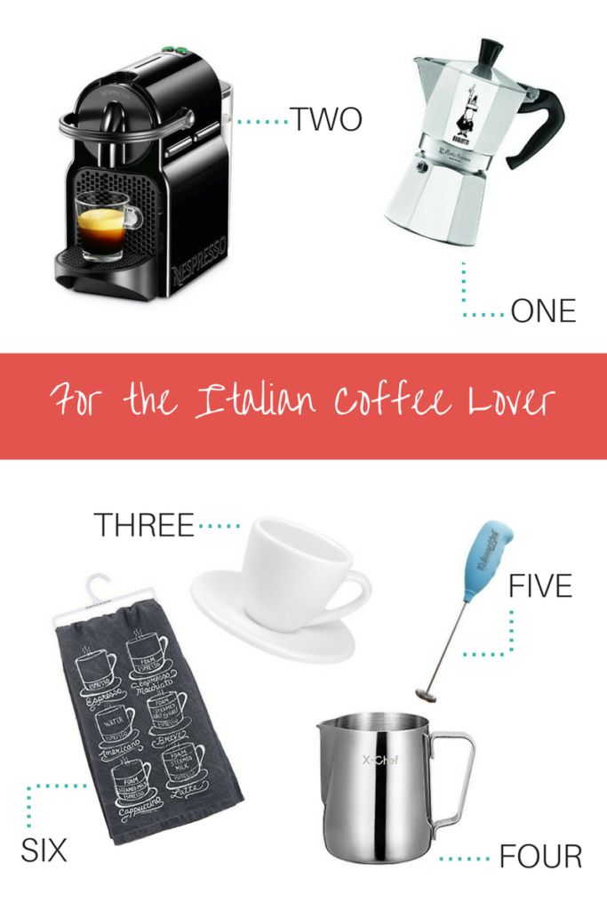 Italian Coffee Lover - Gifts for the Italian Food Lover
