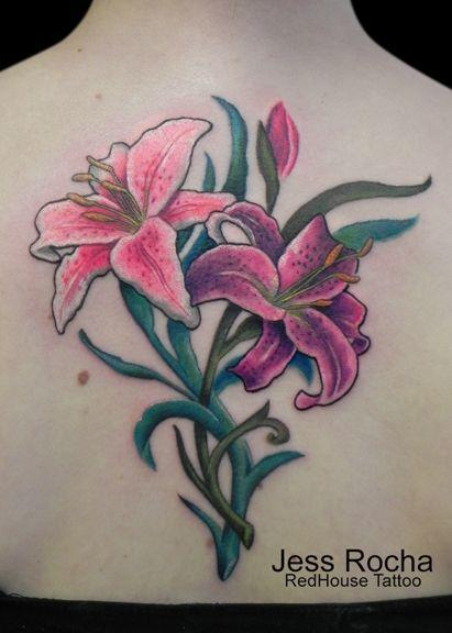 Stargazer Lily Flower Tattoo Designs: 55 Best Lily Images On Pinterest