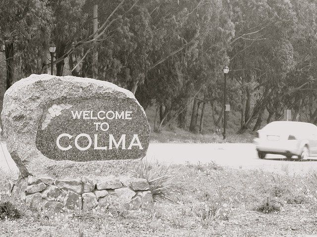Colma is a city in San Mateo County at the northern end of the San Francisco Peninsula. This town of only around 1,800 people has a creepy and haunted history.