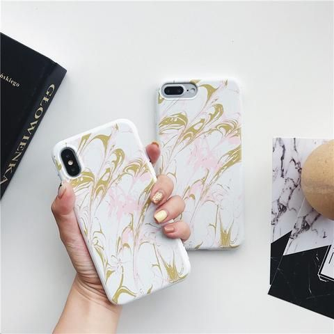 Marble TPU case For iphone 7 case for iphone 6 case for iphone 6s 6 7 8 Plus Sof…